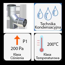 Kwasoodporne kondensacyjne gr. 0,5mm